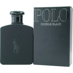 POLO DOUBLE BLACK by Ralph Lauren - EDT SPRAY 2.5 OZ