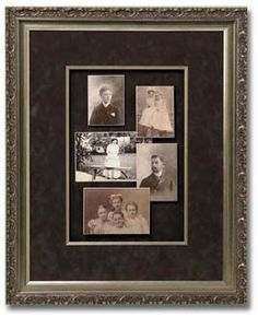 Frame your old family photos so that you can cherish them forever! #framingartcenter