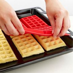 Safety-Waffles-Cake-Chocolate-Pan-Silicone-Mold-Cooking-Mould-Kitchen-Backing