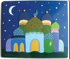 ramadan crafts! free printable ramadan mubarak garlands (3)