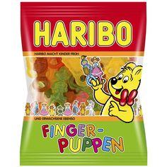 -in USA - HARIBO Finger Puppen - Finger Dolls - 200 g