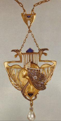 Lucien Gautrait. Ordo de Ley, esmaltes y diamantes.