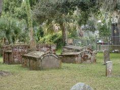 Tomolato Cemetery ~ St. Augustine, Florida