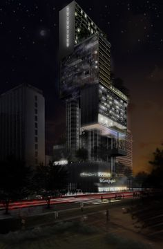 paolo venturella: mixed use tower in madrid