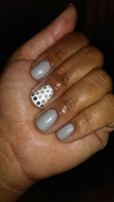 China Glaze Pelican Gray with Sinful Colors My Turn and Color Club Harp On It