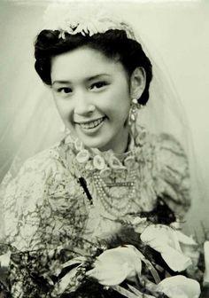 A bride in Shanghai, 1920s