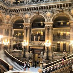 Opéra Garnier - Chaussée-d'Antin - París, Isla de Francia