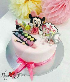 Cake by Ciupakabra Sweets Cake, Girl Cakes, Sugar Art, Cakes And More, Disney Mickey, Birthday Cake, Birthday Ideas, Fondant, Desserts