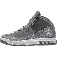 c827c9ead81c Nike Jordan Air Deluxe Gs Big Kids 807718-001 Grey Elephant Shoes Youth  Size 6.5