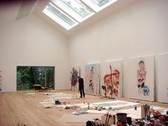 Atelier Derneburg Georg Baselitz - Google Search