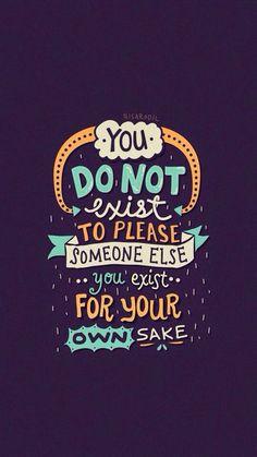 own sake