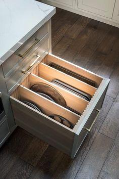Diy Kitchen Storage, Home Decor Kitchen, Kitchen And Bath, New Kitchen, Kitchen Ideas, Drawer Storage, Kitchen Island Storage, Kitchen Island With Drawers, Kitchen Tools