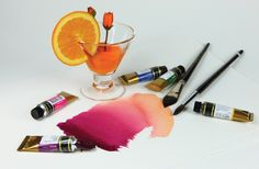 4 top tips for getting started with watercolors - Blog post...great information for selecting paints.