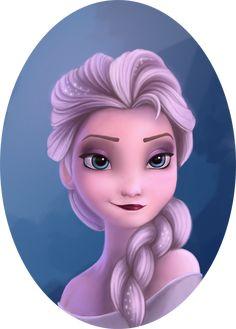Frozen Elsa by Liehl on deviantART