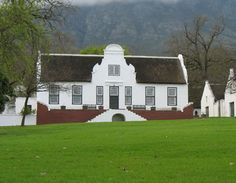 Cape Dutch architecture in Stellenbosch