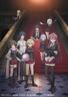 Trinity Seven - literally my favorite show right now
