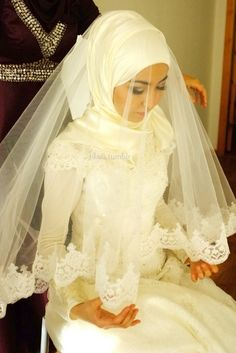 Hijabi Bride!