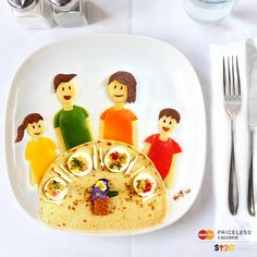 Thanks to everyone who helped #GetTogether with family for Stand Up to Cancer. Together, we raised $4 million! #Food #FoodArt #Tortilla #PricelessCauses #SU2C  Artwork by Red Hong Yi