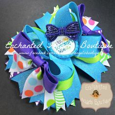 I am Mommy's Mini Me Bling Hairbow Bow Designed by Enchanted Angels Boutique www.facebook.com/enchantedangelsboutique