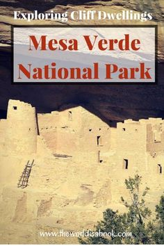 Guide and tips to exploring and visiting the Cliff Dwellings at Mesa Verde National Park with kids. | Colorado with kids