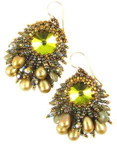 Pearle Jam Earrings by Sherry Serafini by Beads East