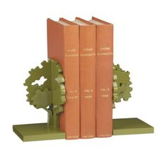 Tree bookends, $50 at CB2