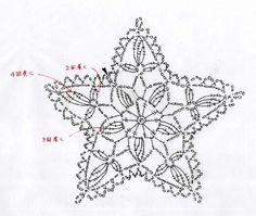 Knitting Charts Snowflake Crochet Motif New Ideas Crochet Snowflake Pattern, Crochet Stars, Crochet Motifs, Crochet Snowflakes, Crochet Diagram, Thread Crochet, Crochet Crafts, Crochet Doilies, Crochet Flowers