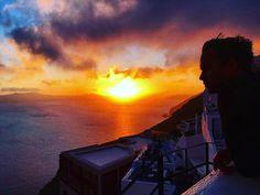 Sunsets in Santorini.. 🌅✨