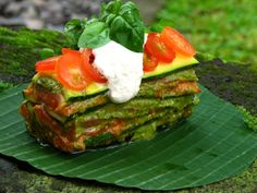 Zuchini basil lasagna (make sure to grind up walnuts as faux-meat! good for your brain!)