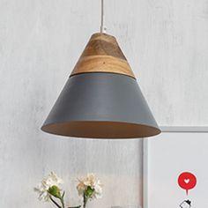 Soleil Pendant Lamp (Matte Grey)