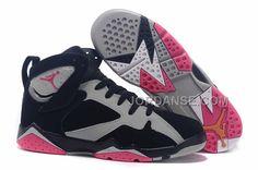 "Buy Discount 2015 Air Jordan 7 GS ""Fuchsia Flash"" Black/Sport Fuchsia Pink- Grey For Women from Reliable Discount 2015 Air Jordan 7 GS ""Fuchsia Flash""  ..."