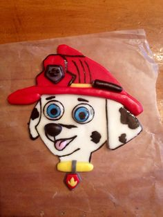 Hey, I found this really awesome Etsy listing at https://www.etsy.com/listing/181128229/paw-patrol-cake-topper