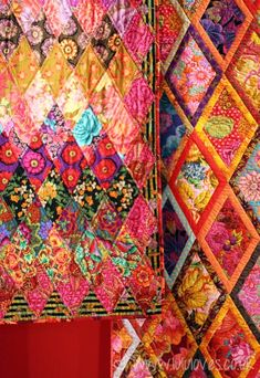 Kaffe Fassett. I LOVE his rich, rich colors, he also hads/has gorgeous yarn colors.