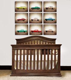 ON SALE Vintage Matchbox Cars, Set of Nine Photo prints, Nursery Decor, Rustic Decor Toy Cars, Baby room ideas, Boys Room Decor, on Etsy, $99.00