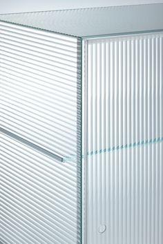 piero lissoni's commodore storage unit for glas italia expresses a clear simplicity