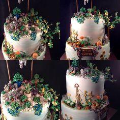 Bei dieser Torte durfte ich mich voll entfalten, es sollte aber einen Garten darstellen. Ich hatte als kleine Anregung ein Foto vom Steingarten, den das Geburtstagskind angelegt hat. Ich wünsche dir, liebe Rita, zu deinem Geburtstag alles gute und weiterhin einen grünen Daumen! Der Untere hat eine neue Füllung: Schokosahnepudding mit Rum, sehr lecker! #Geburtstagskuchen #Birthdaycake #torte #Geburtstagstorte #Garten #Garden #Blumen #Flowers #Apfelbaum #Appletree Rum, Cake, Instagram Posts, Desserts, Food, Apple Tree, Rockery Garden, Birthday Cakes, Birthday Cake Toppers
