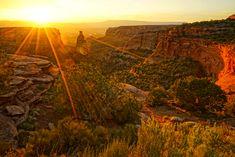 Sunrise, Colorado National Monument. Colorado National Monument, Photo S, Monument Valley, Sunrise, World, Nature, Travel, Outdoor, Outdoors