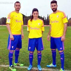 Cádiz CF 2017 International Women's Day adidas Kit Adidas Kit, Football Fashion, Cadiz, Ladies Day, Celebrities, Sports, The League, Hs Sports, Celebs