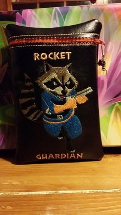 Rocket Racoon Kindle hd fire case by RedNeckRagsCreations on Etsy, $20.00