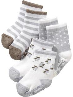 Little Bundles Sock 3-Packs for Baby Product Image