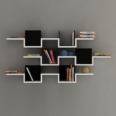 3 Tier Wall Shelves