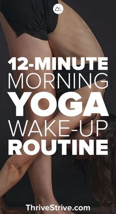 Looking for a morning yoga workout routine for beginners? This yoga workout will help you get the blood flowing and improve your flexibility. Wake up with yoga for stress, abs, and fat-burning. #MorningYoga #HealthyLifestyle