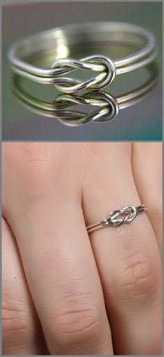 Sailor Infinity Knot Ring <3 #nautical #love