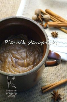 staropolski-piernik-dojrzewajacy Polish Recipes, Polish Food, My Favorite Food, Favorite Recipes, I Foods, Cake Recipes, Food And Drink, Sweets, Healthy Recipes