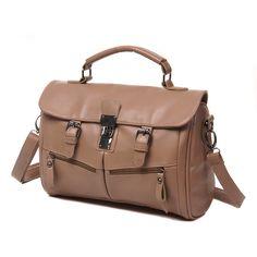 High end good quality best-selling pupolar fashion women's vintage handbag top grade PU material handbag messenger bag lock bag