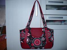 Handbag with circles