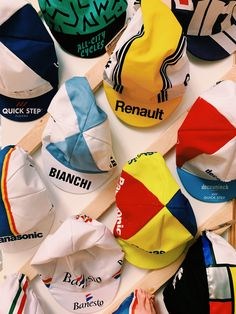 We have a huge selection of vintage and contemporary cycling caps! Cycling, Cap, Contemporary, Vintage, Fashion, Baseball Hat, Moda, Biking, Fashion Styles