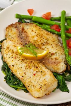 Fried Tilapia And Shrimp Recipes. Tilapia With Green Beans Recipe Food Network Kitchen . Parmesan Broiled Tilapia Recipe Taste Of Home. Tilapia Shrimp Recipe, Pan Seared Tilapia, Seared Fish, Fish Recipes Pan, Seafood Recipes, Dinner Recipes, Simple Fish Recipes, Healthy Recipes, Gastronomia