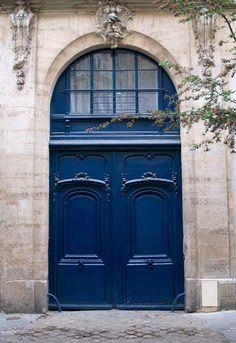 Paris Blue Door  http://www.riverwindgalleryart.com/jay-hill-france.html