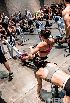 row, row, row, row ....... row, row, row.... row, row ...... pass out!  Did my first crossfit row class and loved the full body conditioning it provides